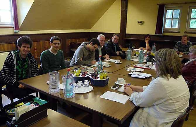 Treffen der Sprecherinnen und Sprecher auf Bundesebene im Schatten des Fuldaer Domes